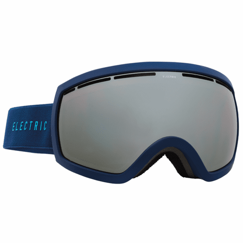 Electric Visual EG2.5 Snow Goggles<br>Navy Cyan/Bronze w/Silver Chrome<br>+ Light Green Bonus Lens