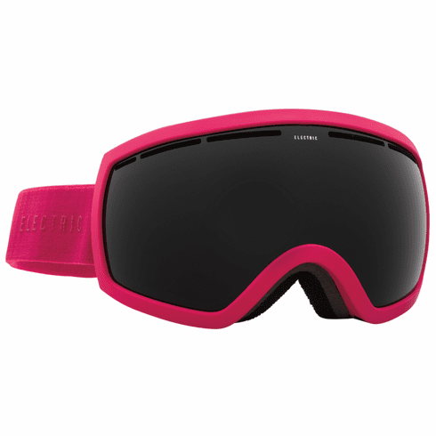 Electric Visual EG2.5 Snow Goggles<br>Solid Berry/Jet Black<br>+ Light Green Bonus Lens