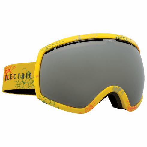 Electric Visual EG2 Snow Goggles<br>Cartoon Yellow/Bronze w/Silver Chrome<br>+ Light Green Bonus Lens