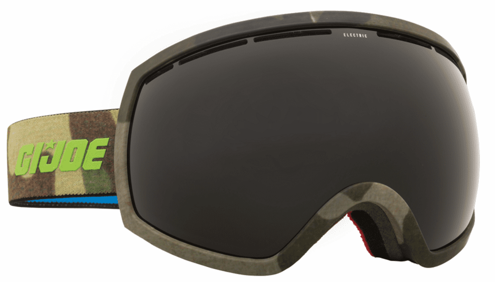 Electric Visual EG2 Snow Goggles<br>G.I. Joe Camo/Jet Black<br>+ Light Green Bonus Lens