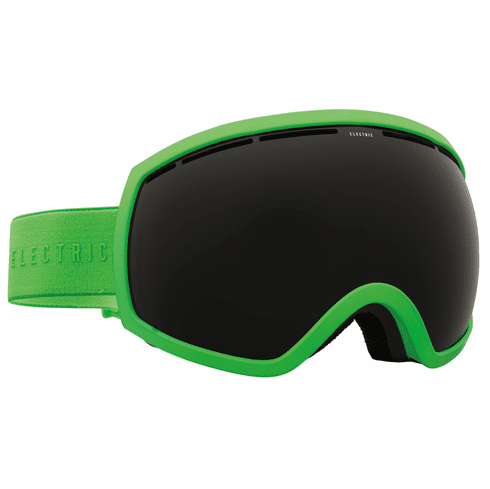 electric visual eg2 snow goggles solid slimejet black