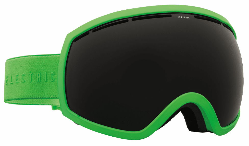 Electric Visual EG2 Snow Goggles<br>Solid Slime/Jet Black <br>+ Light Green Bonus Lens