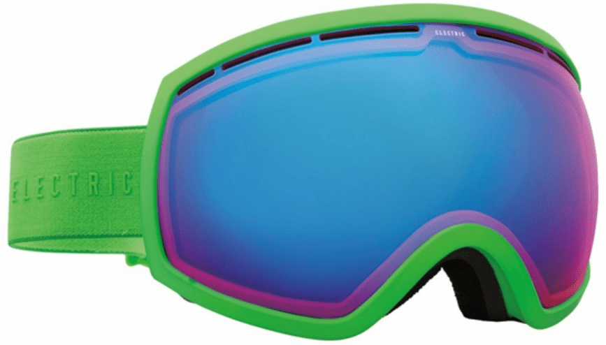 Electric Visual EG2 Snow Goggles<br>Solid Slime/Rose Blue Chrome