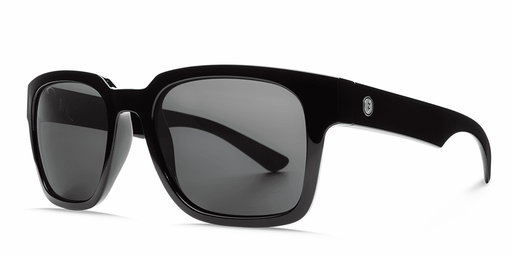 Electric Zombie Sunglasses<br>Gloss Black/OHM Grey Polarized