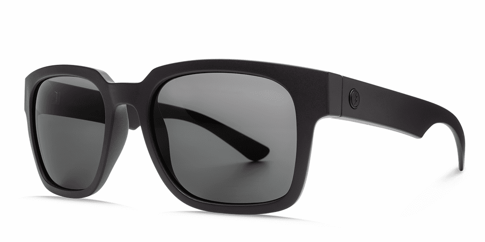 Electric Zombie Sunglasses<br>Matte Black/OHM Grey