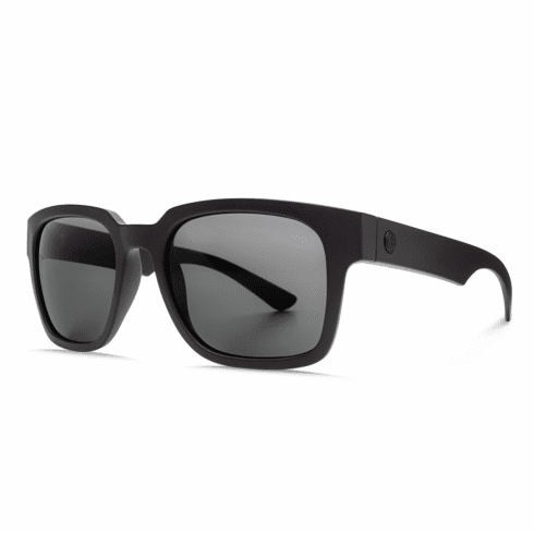 Electric Zombie Sunglasses<br>Matte Black/OHM Grey Polarized