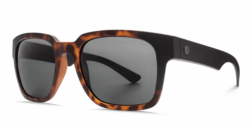 Electric Zombie Sunglasses<br>Tort Burst/OHM Grey Polarized