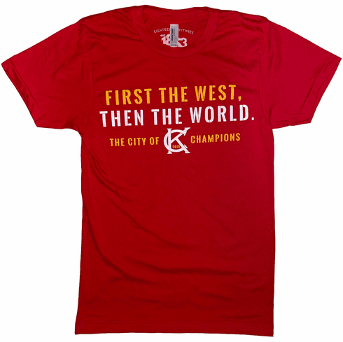 First the West Tee