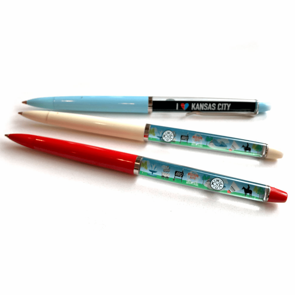 Kansas City KCMO Float Pen 3-Pack