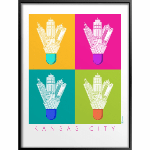 Kansas City Pop Icons Art Print