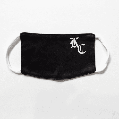 KC Monogram Face Mask