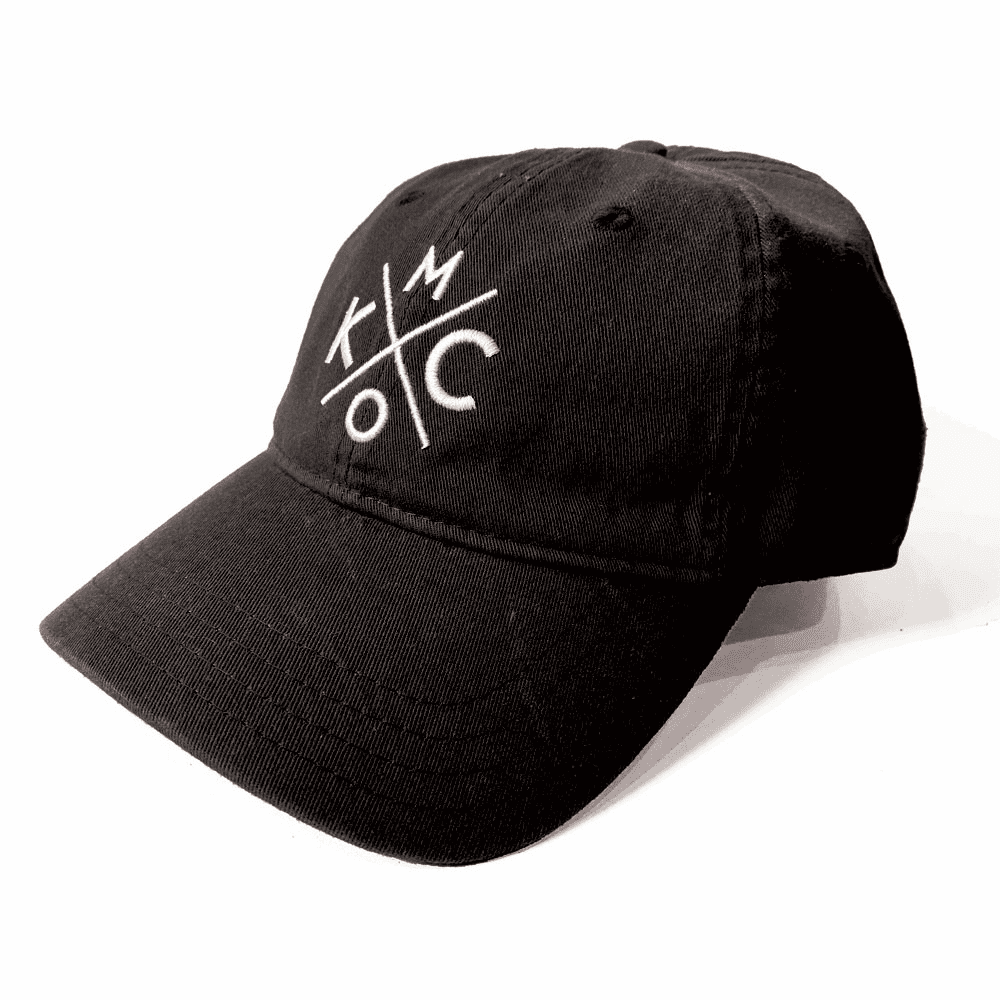 KCMO Black Dad Hat