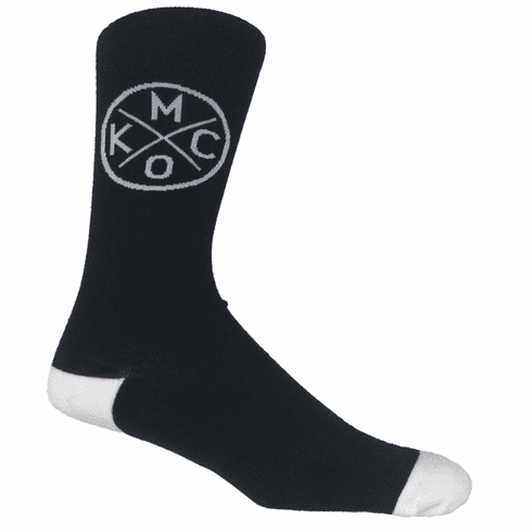 KCMO Black Socks