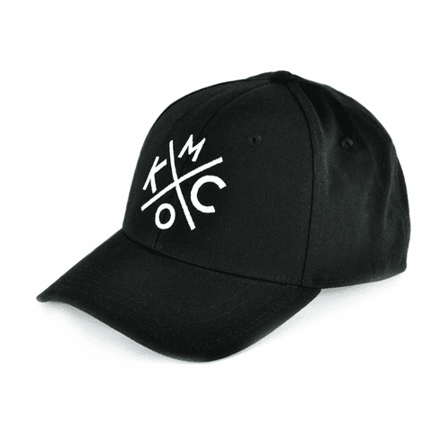 KCMO Black/White Curved Bill Hat