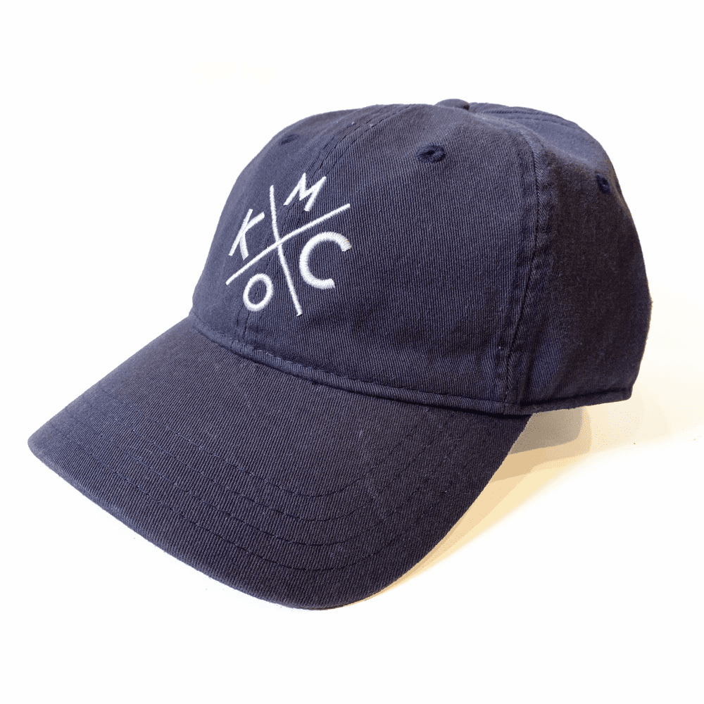 KCMO Navy Dad Hat
