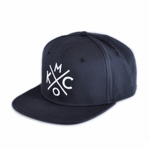 KCMO Navy/White Flat Bill Hat