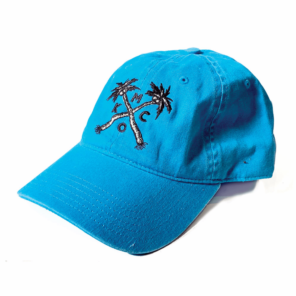 KCMO Palm Tree Blue Dad Hat