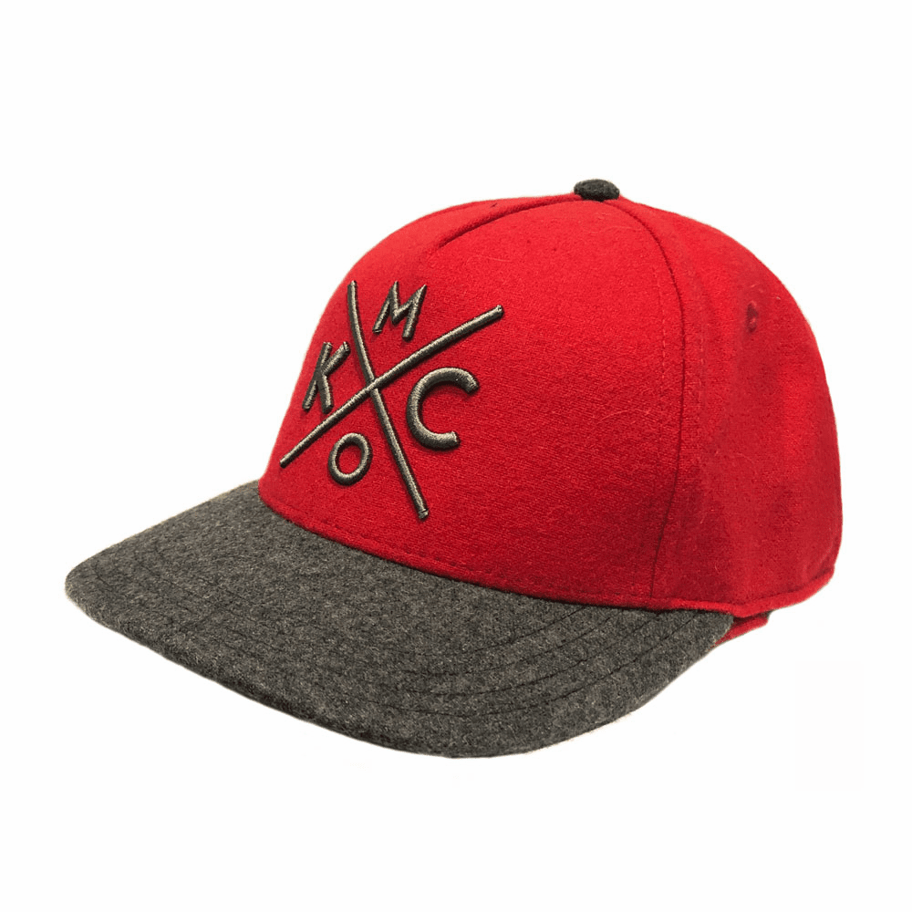 KCMO Red Flannel/Grey Classic Fit Hat