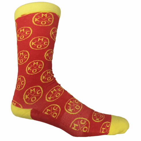 KCMO Red/Yellow Socks