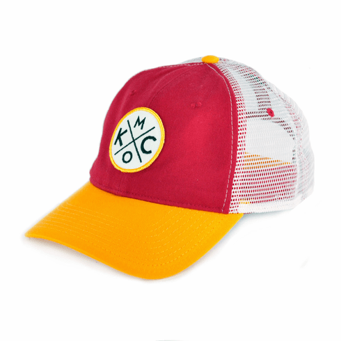 KCMO Red/Yellow Trucker Hat