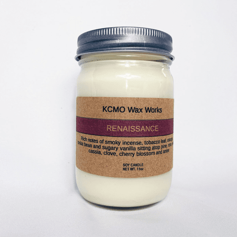 KCMO Wax Works Renaissance Soy Candle
