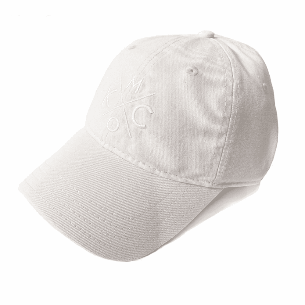 KCMO White Dad Hat
