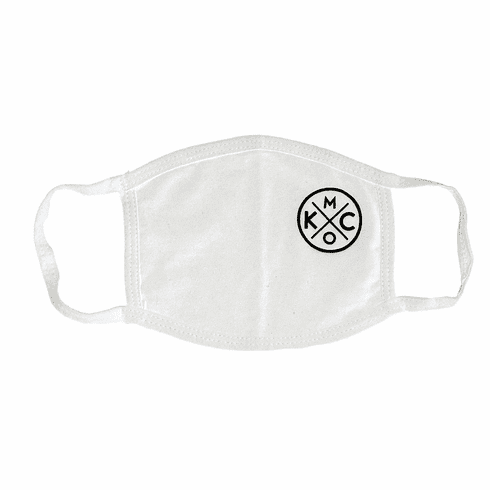 KCMO White Face Mask