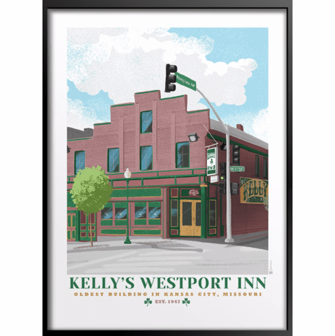 Kelly's Westport Inn Art Print