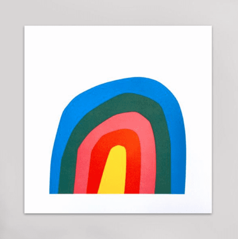 Magic Rainbow Art Print - Hammerpress