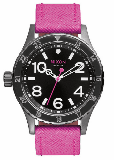 Nixon 38-20 Leather Watch<br>Ladies