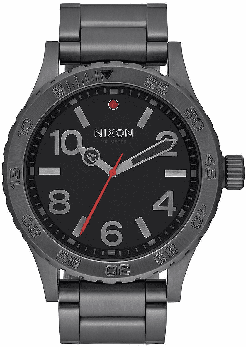 Nixon 46 Watch<br>All Gunmetal
