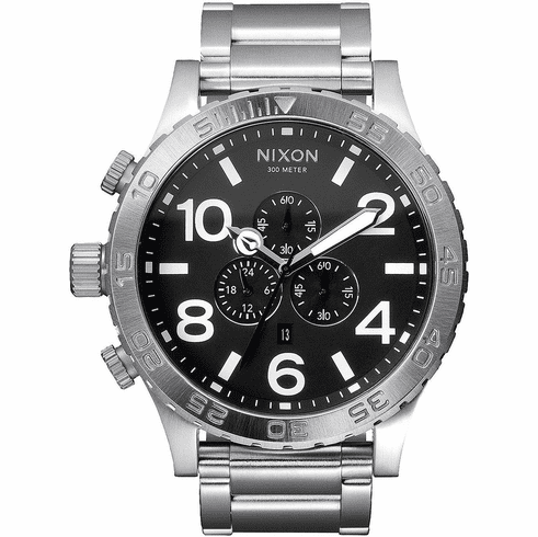 Nixon 51-30 Chrono Watch<br>Black