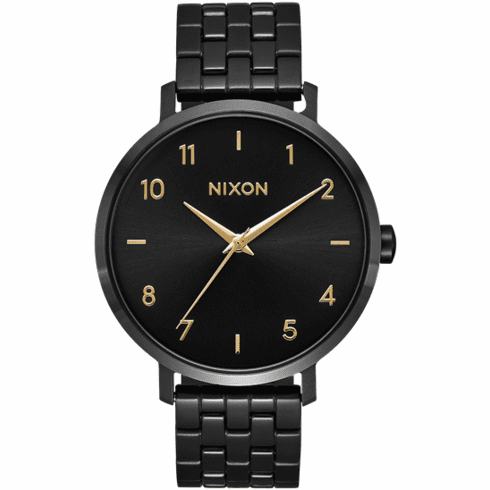 Nixon Arrow Watch<br>Black/Gold