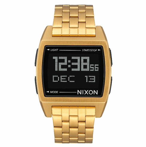Nixon Base Watch<br>All Gold