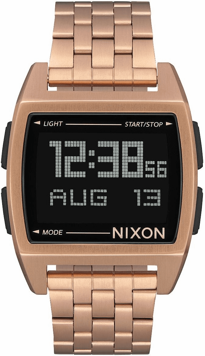 Nixon Base Watch<br>All Rose Gold