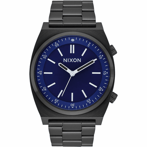 (Sale!!!) Nixon Brigade Watch<br>All Black/Dark Blue