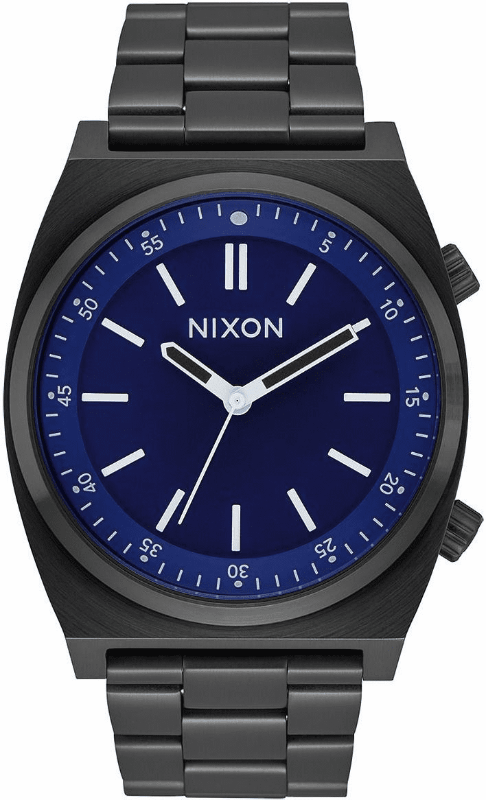 Nixon Brigade Watch<br>All Black/Dark Blue