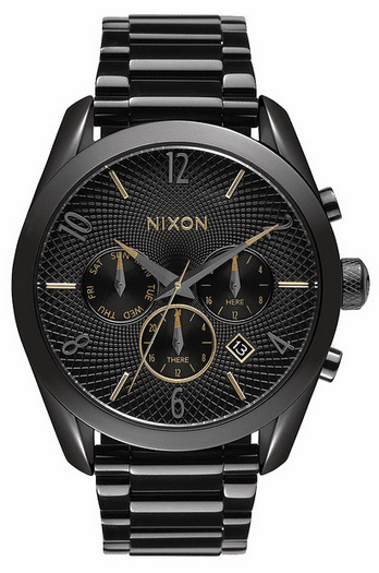Nixon Bullet Chrono Watch<br>All Black/Mixed