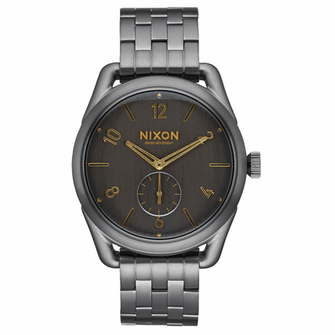 Nixon C39 SS Watch<br>All Gunmetal/Gold