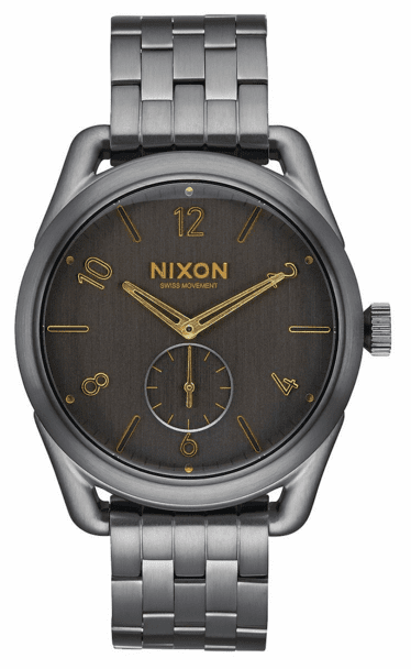(SALE!!!) Nixon C39 SS Watch<br>All Gunmetal/Gold