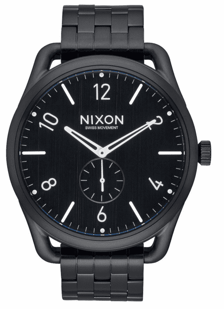 (SALE!!!) Nixon C45 SS Watch<br>All Black