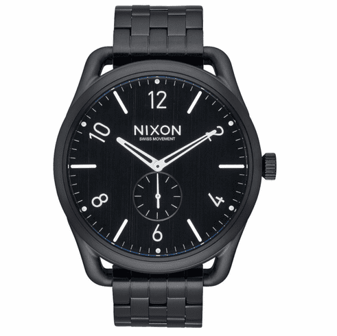 Nixon C45 SS Watch<br>All Black