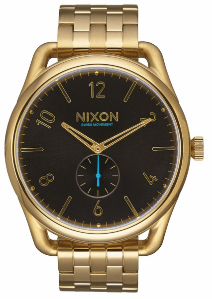 Nixon C45 SS Watch<br>All Gold/Black