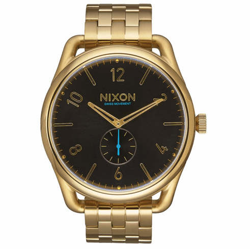 (SALE!!!) Nixon C45 SS Watch<br>All Gold/Black
