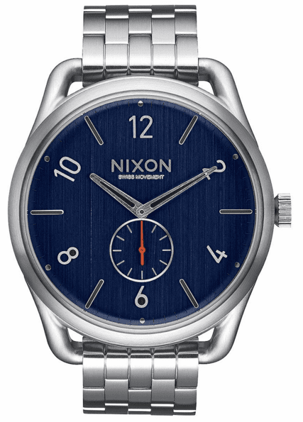 Nixon C45 SS Watch<br>Navy