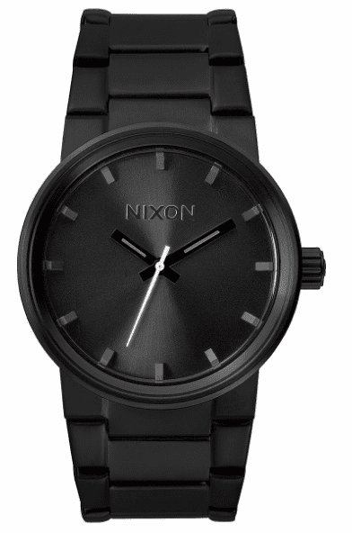 Nixon Cannon Watch<BR>All Black