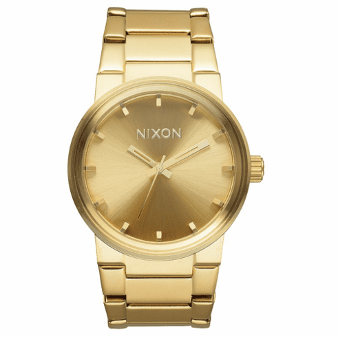 Nixon Cannon Watch<br>All Gold