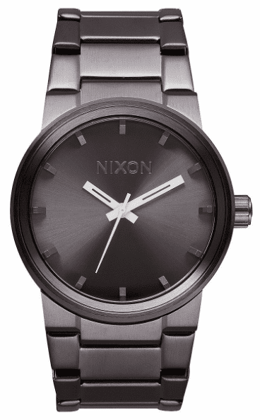 Nixon Cannon Watch <BR>All Gunmetal