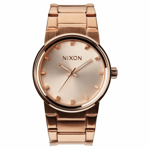(SALE!!!) Nixon Cannon Watch<br>All Rose Gold