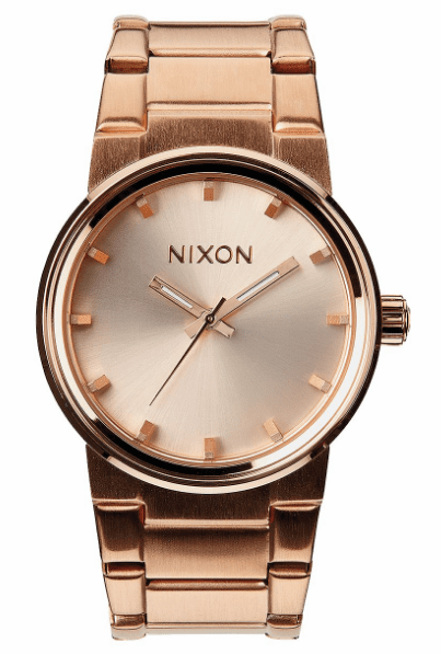 Nixon Cannon Watch<br>All Rose Gold